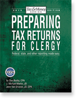 2014 Preparing Tax Returns for Clergy