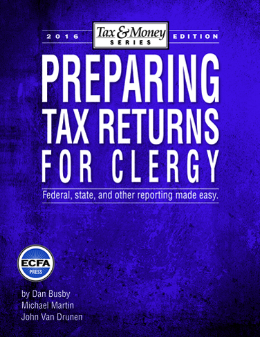 2016 Preparing Tax Returns for Clergy