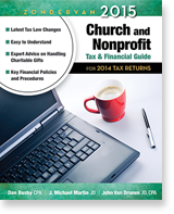 Zondervan 2014 Church and Nonprofit Tax & Financial Guide