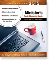 Zondervan 2014 Minister's Tax & Financial Guide