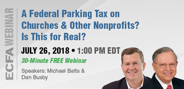 A Federal Parking Tax on Churches and Other Nonprofits