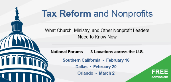 Tax Reform and Nonprofits