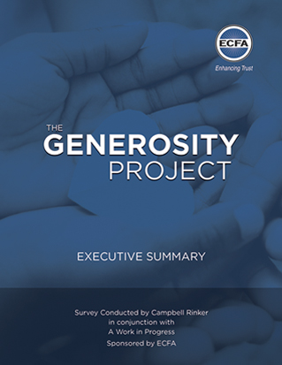 Generosity Report Executive Summary
