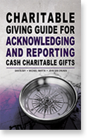 Charitable Giving Guide for Acknowledging And Reporting Cash Charitable Gifts