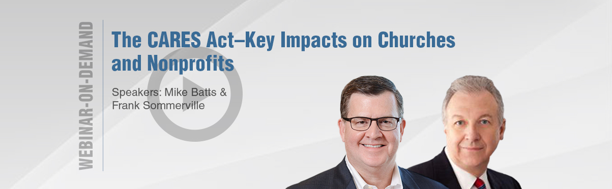Cares Act Webinar on Demand