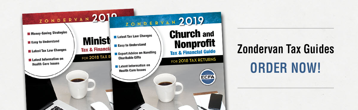 2019 Zondervan Tax & Financial Guides