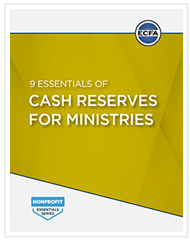 9 Essentials of Cash Reserves for Ministries