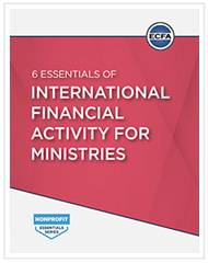 6 Essentials of International Financial Activity for Ministries